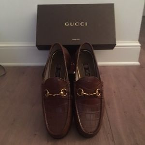 Gucci Aligater Mens Loafers